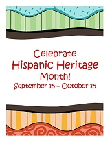 Hispanic Month poster