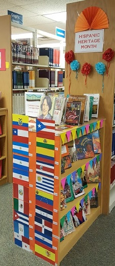 Hispanic Month display