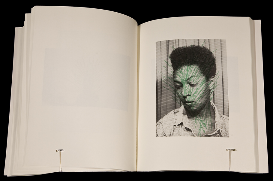 "Page from Adrian Piper's ""Colored People: A Collabortive Book Project,"" 1991"