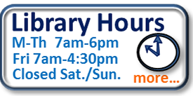 Library Interim Hours