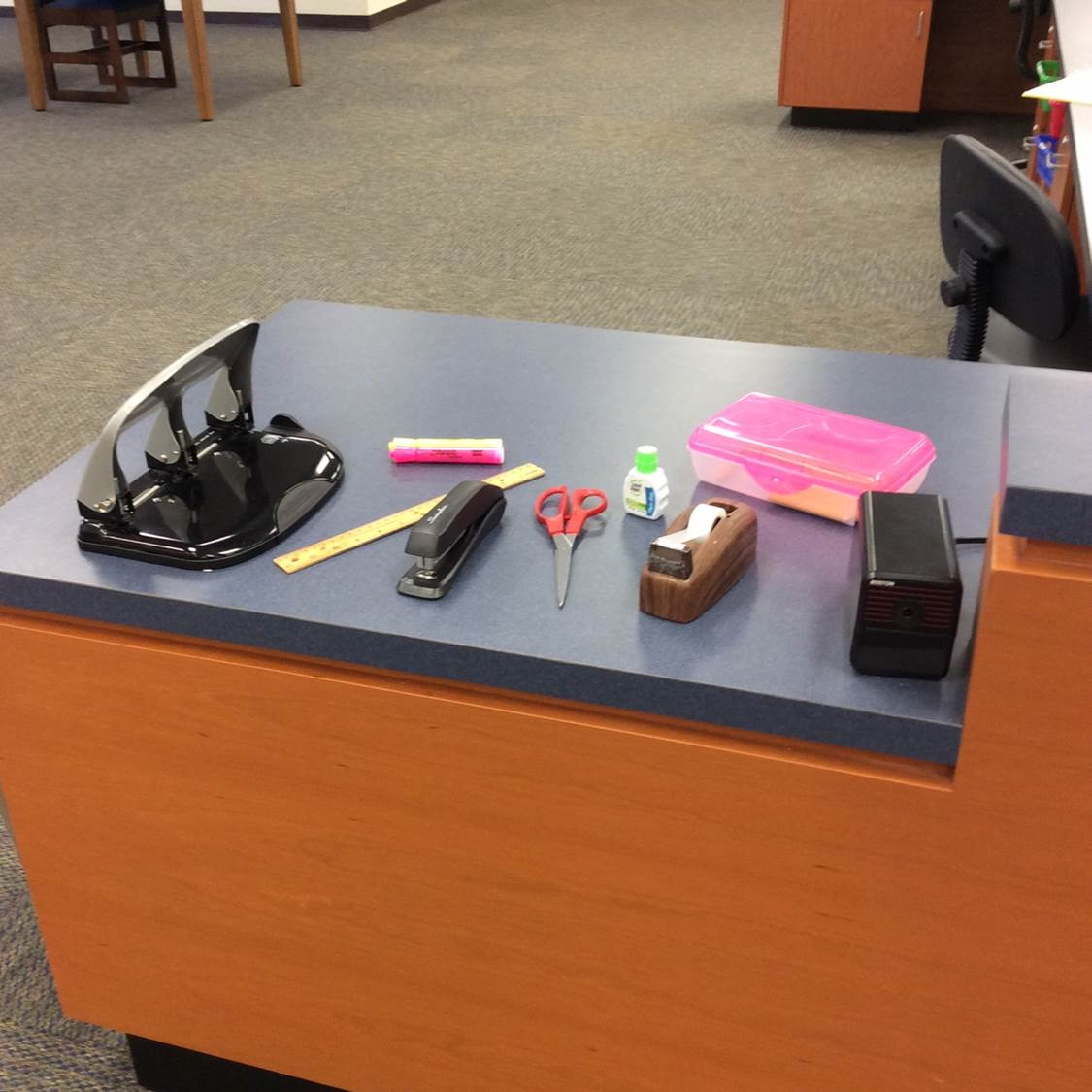 Photo of Information Desk Supplies