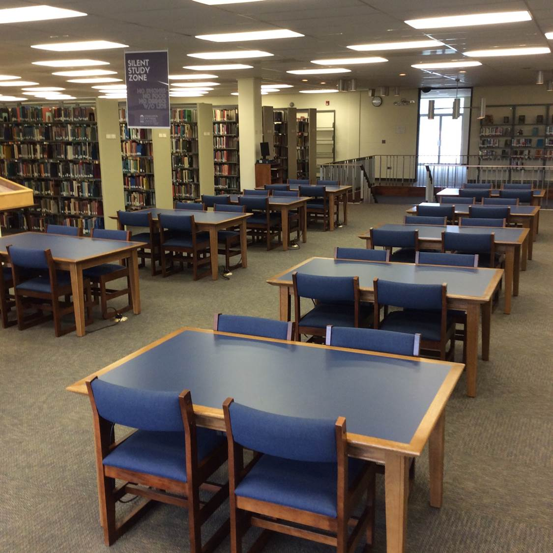 Photo of Second Level study tables