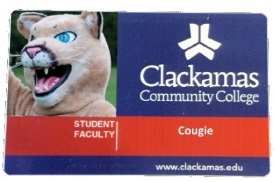 CCC student ID card.