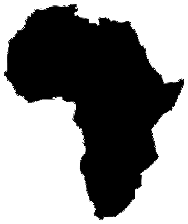 Image of the continenet of Africa