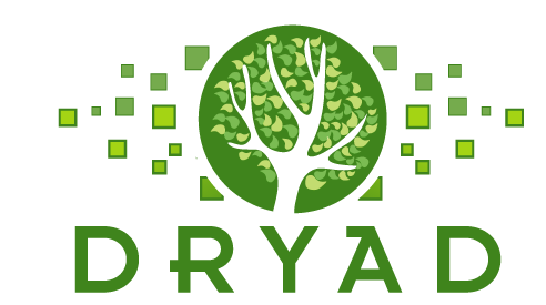 Dryad logo of a tree