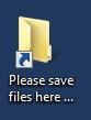 desktop folder icon