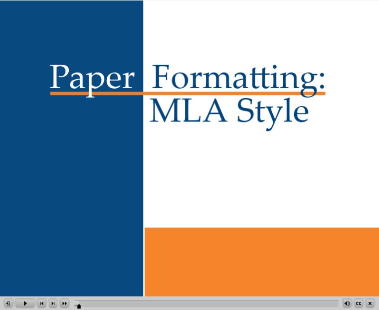 mla style manual 8th edition