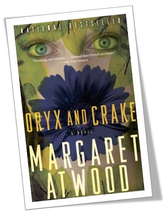 Image: Book cover for oryx and crake