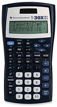 TI-30XIIS Dual Power Scientific Calculator
