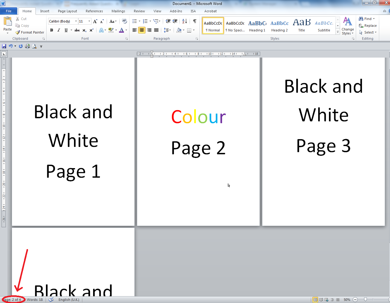 Printing The Library University Of Salford Manchester New Wiring Colour Codes Uk In Example Below You Can See That Page Is 2 4 Make A Note Which Pages Need To Print