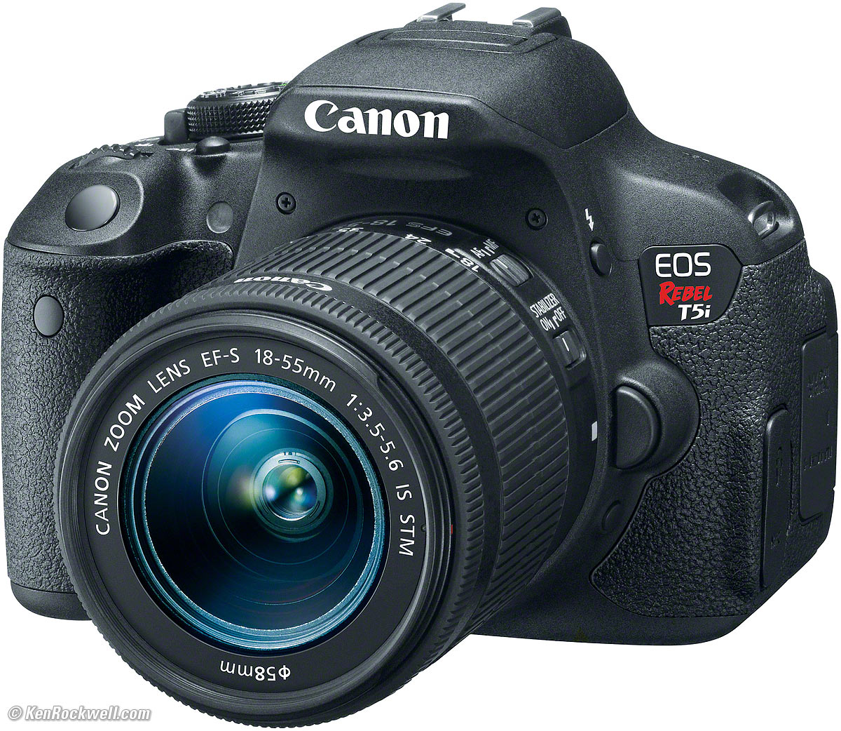 Canon Rebel DSLR camera