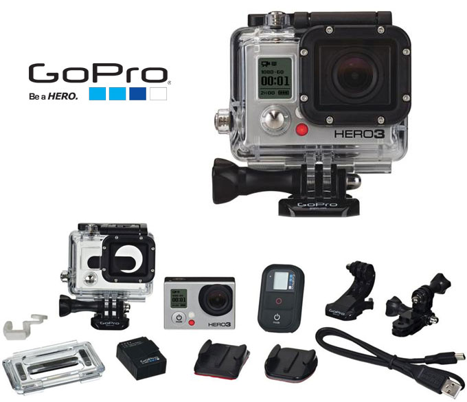 GoPro Hero3 with accessories