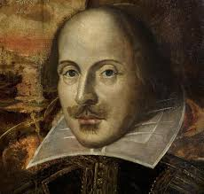 flower portrait of william shakespeare