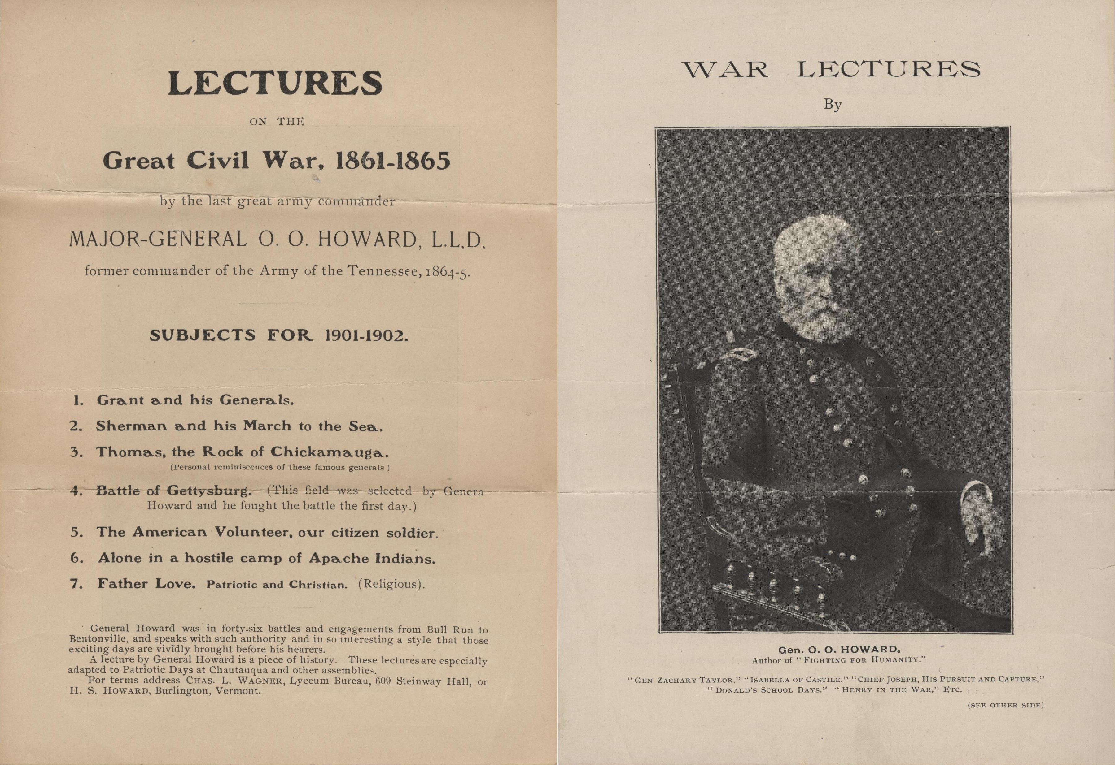 O. O. Howard War Lectures