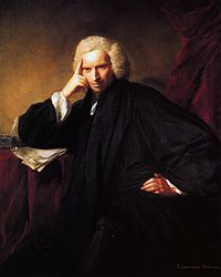 Portrait of Laurence Sterne by Joshua Reynolds, 1760
