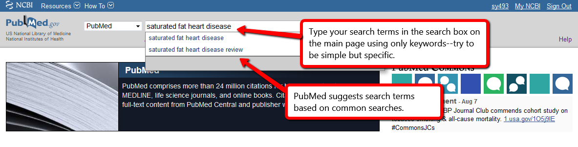 Searching PubMed - NS 5100/5410: Post-Baccalaureate Certificate ...