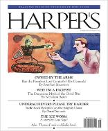 Harper's cover