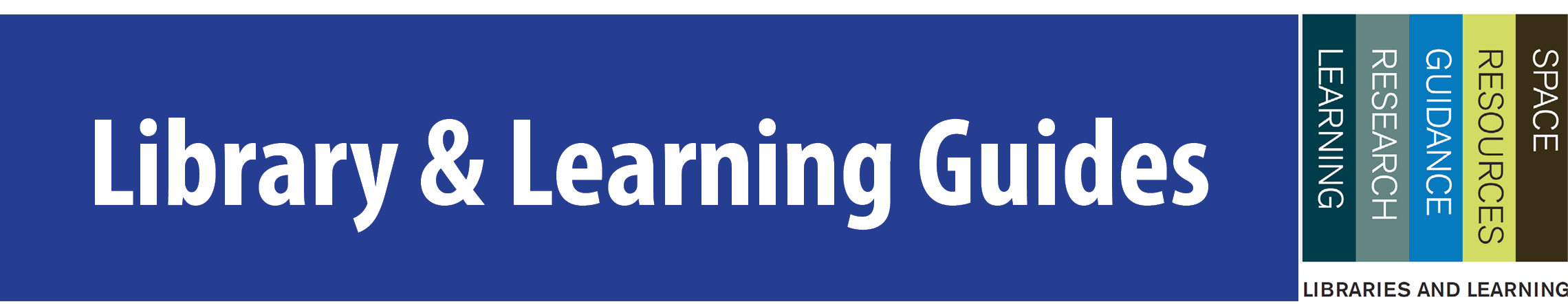 Library and Learning Services Banner