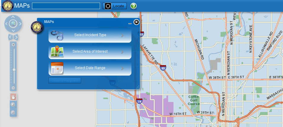 Mapping Application for Public Safety homepage image