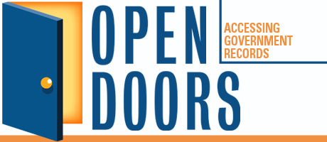 Society of Professional Journalists Open Doors Logo