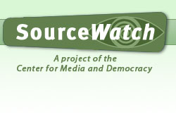 Sourcewatch web page