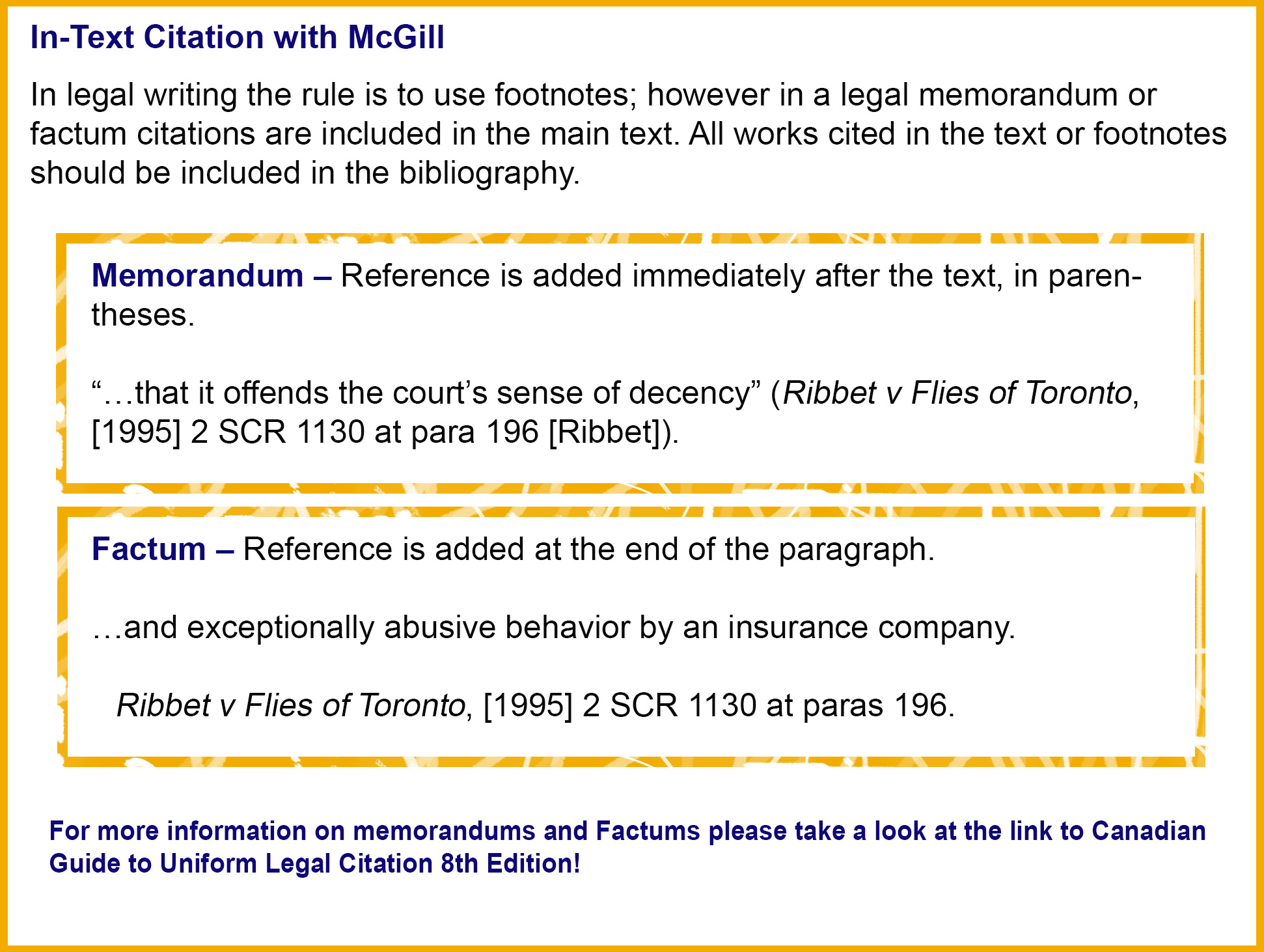 mcgill th edition citation style guide libguides at dalhousie  citation style guide