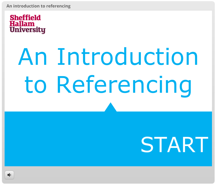 Try our interactive resource LibGuides   Sheffield Hallam University