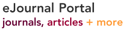 ejournal portal, journals, articles and more