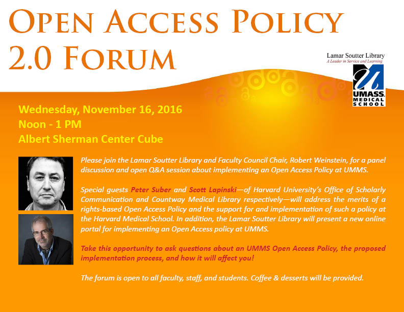 Open Access Policy Forum