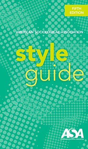 book cover of the asa style guide