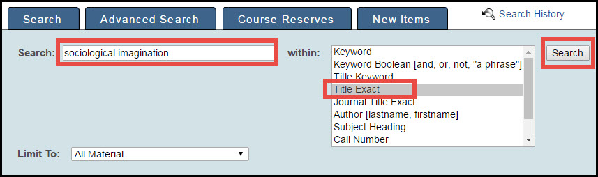 title search in qcat