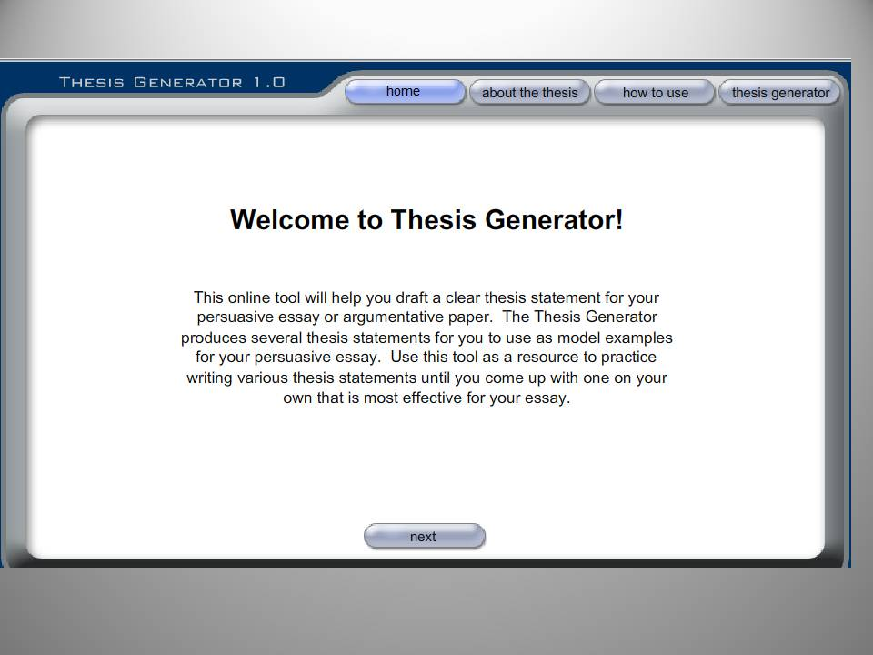 Research Tips And Tools Research Process Libguides At Eugene Thesis  Generator
