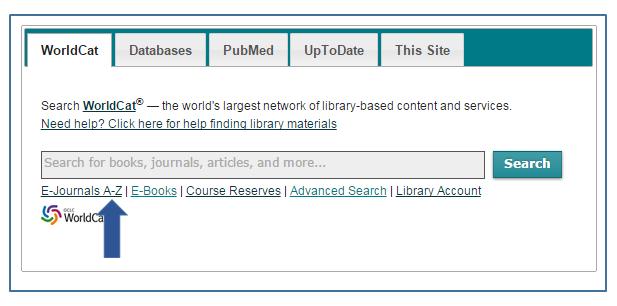 Search scientific articles