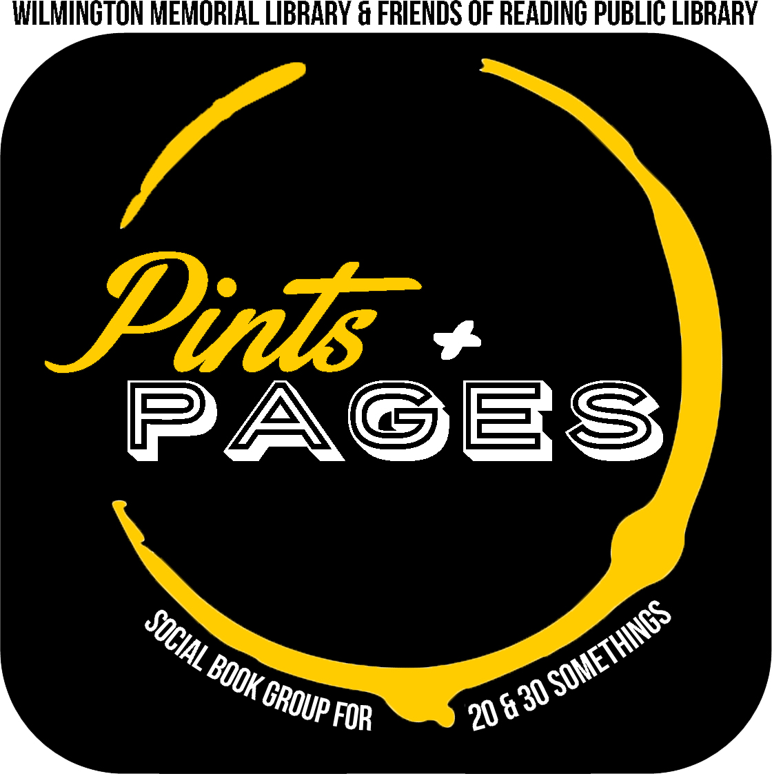 Pints+Pages Logo
