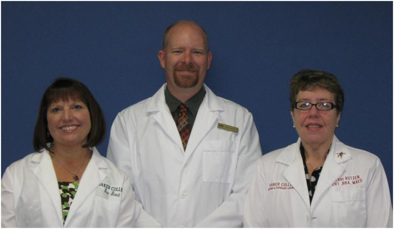 Photo of the microscopy team.