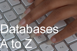 Click to go to the A to Z list of databases