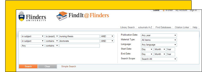 Search thesis