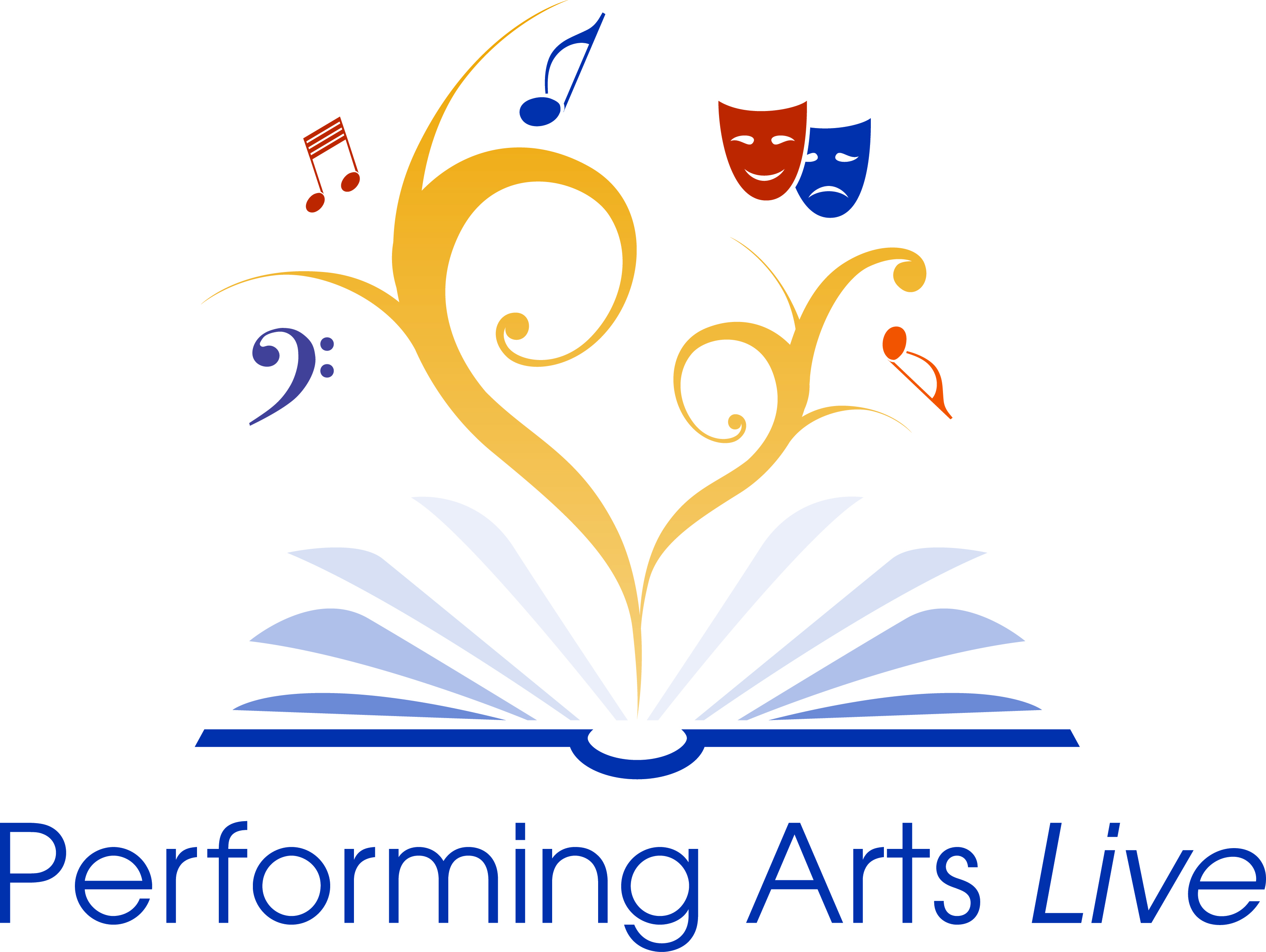 Performing Arts Live event logo