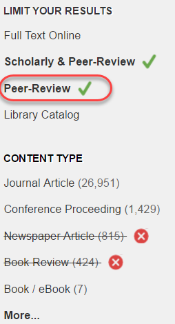 EAGLEsearch Peer-Review Limit