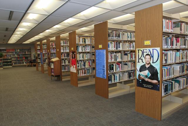photo of interior of Northeast Library
