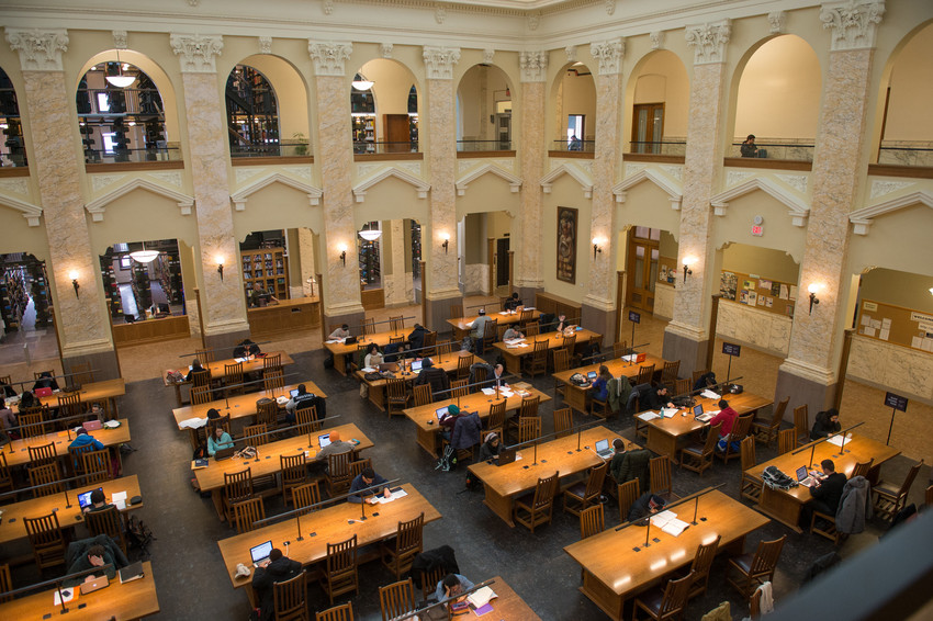 carnegie library reading room