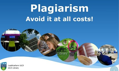 Image of plagiarism tutorial home page