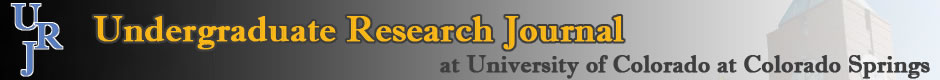 UCCS Undergraduate Research Journal