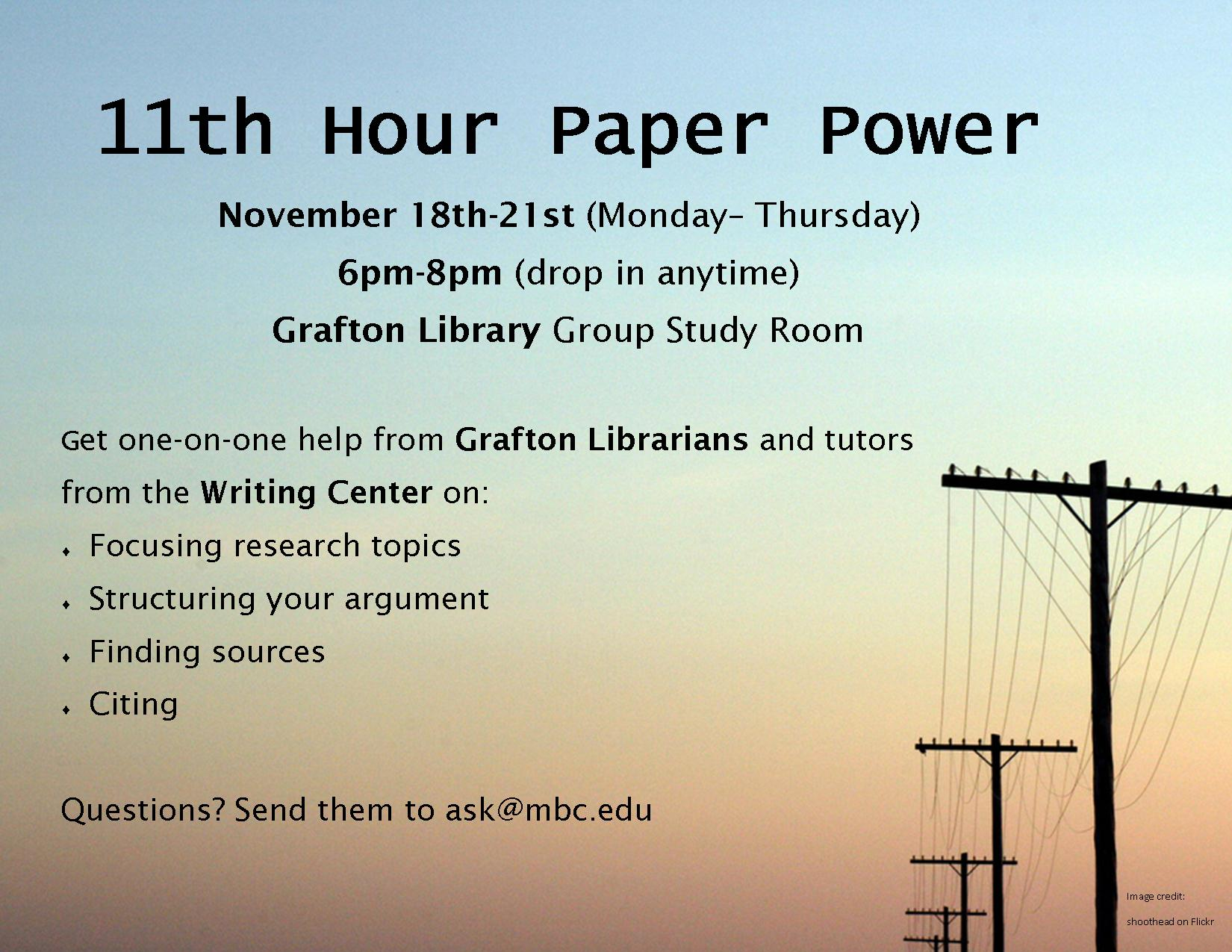 11th hour paper power from 2013