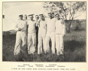 photograph of members of the Eleveners baseball team
