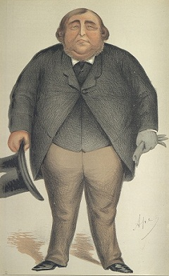 Baronet or Butcher, Vanity Fair Men of the Day, No. 25