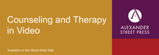 Counseling and Therapy in Video logo