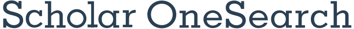 Scholar OneSearch logo