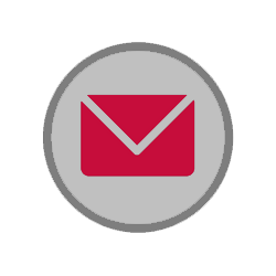 circular icon depicting an envelope