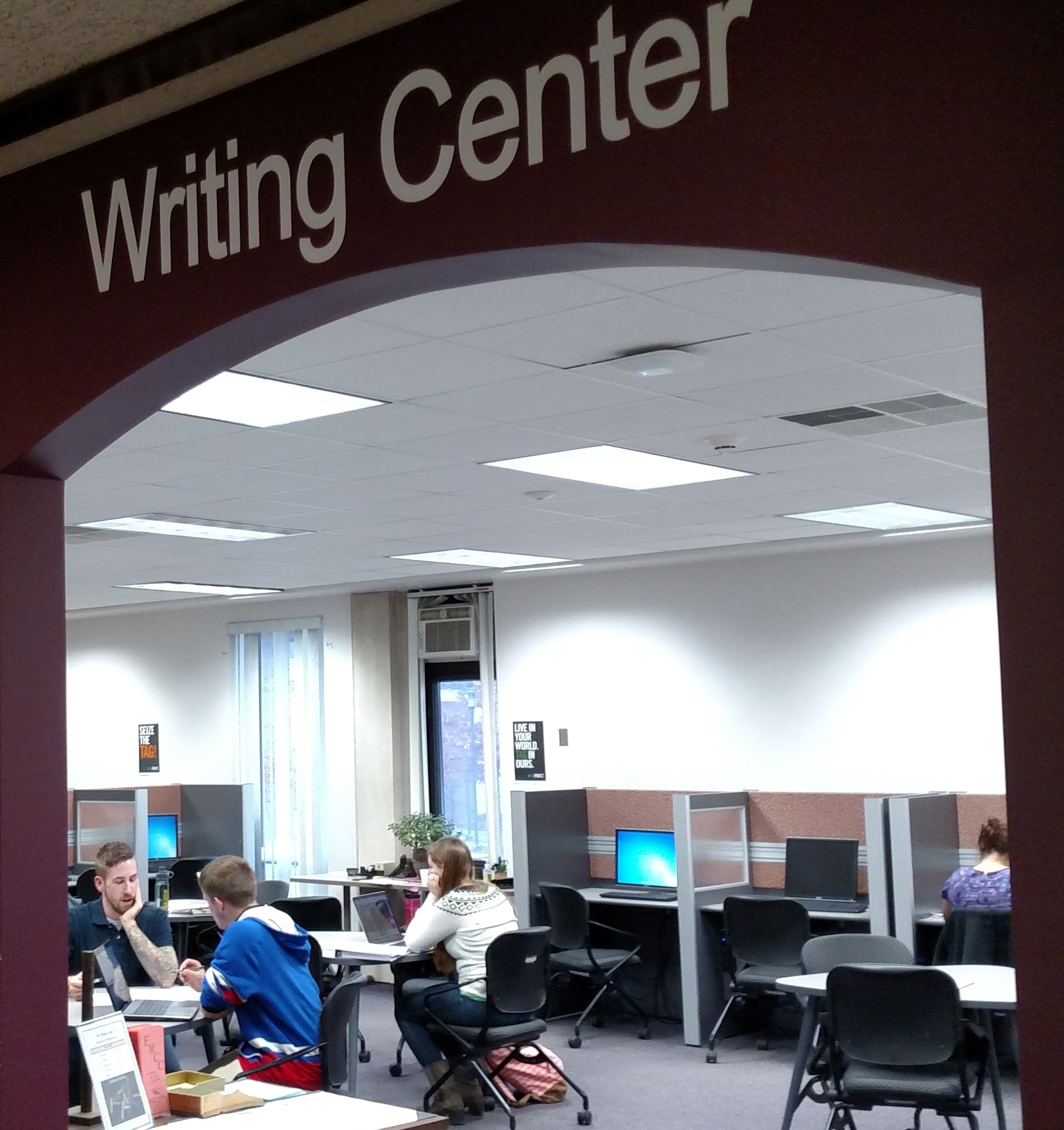 Writing Center - 1st Floor Evans Library